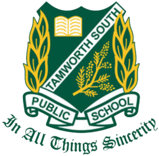 Tamworth South Public School logo